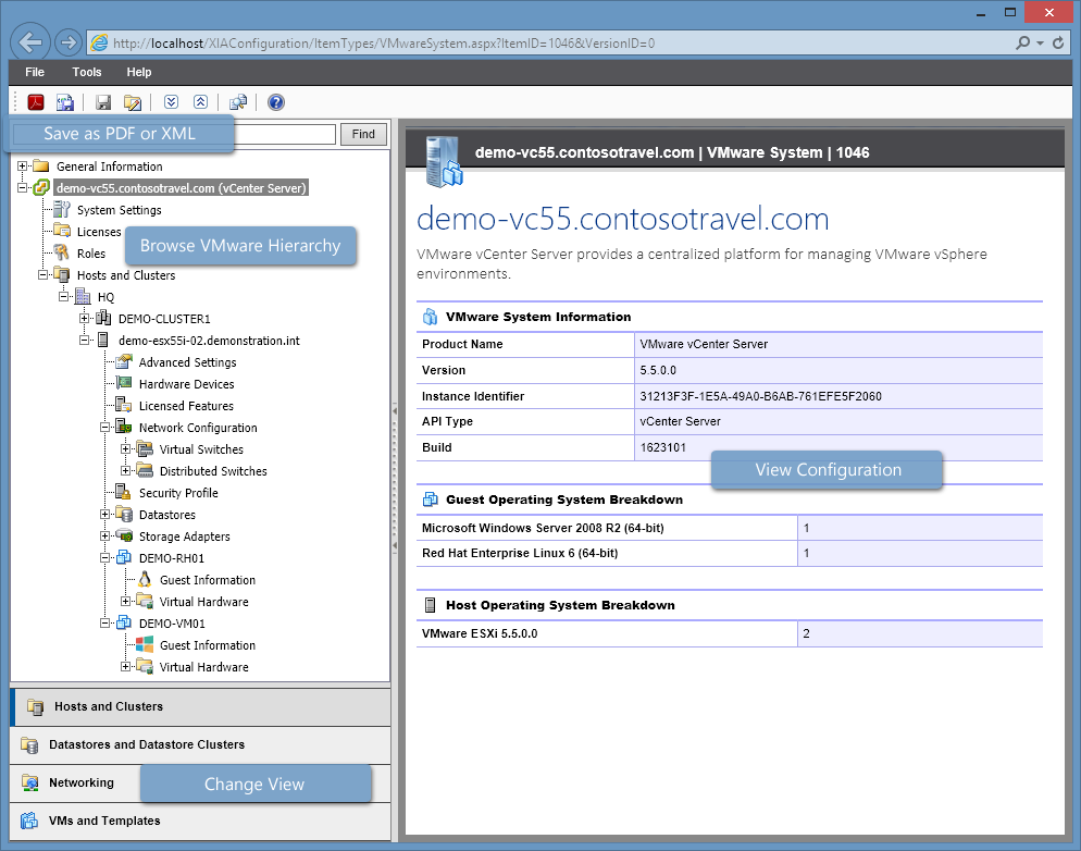 vmware information Device vm information sources use this tab to proactively track changes on the  virtual machines (vms) deployed on any of these sources—vmware esxi.